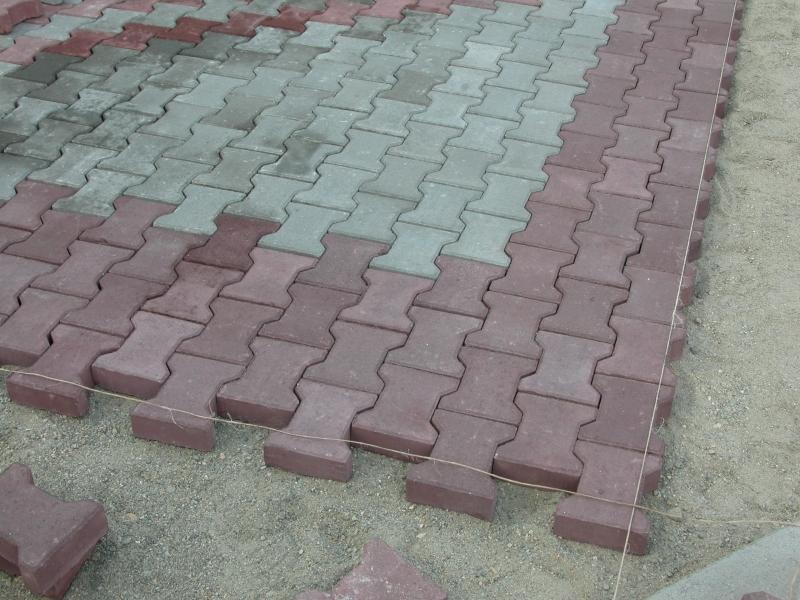Дизайн укладка тротуарной плитки фото